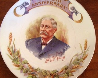Fred Krug Brewing Co. Plate