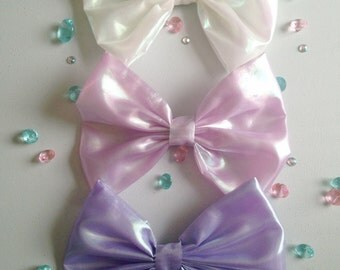 Huge Holographic Bow (3 Colors!!!)
