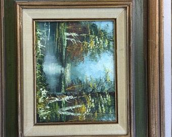 J. Medina oil painting