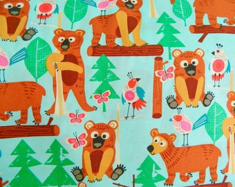 Bearly There Alexander Henry Fabrics