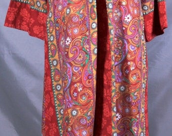 Kaftan Hippie Lounge wear made by Loungees Size small