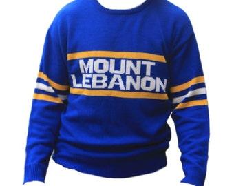 LIMITED EDITION Mt Lebanon Vintage Sweater