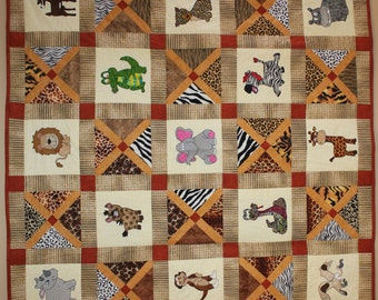 View Quilt Patterns by MsPDesignsUSA on Etsy : animal print quilt patterns - Adamdwight.com
