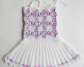 Irish lace dress for girls