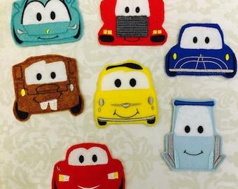 Car Finger Puppets