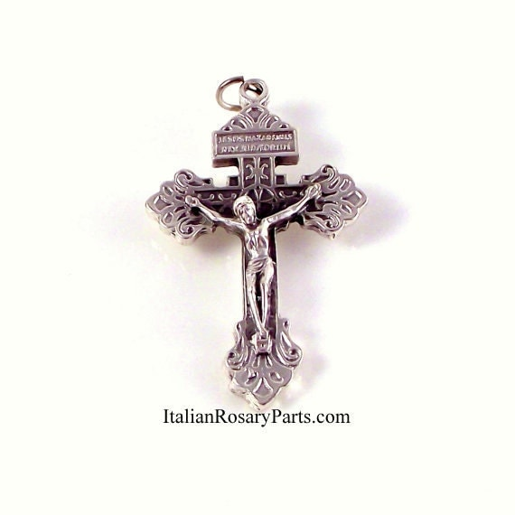 English To Italian Translator Google: Italian Indulgence Pardon Crucifix Rosary By