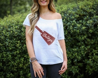 Mississippi State Bulldog Cowbell T-Shirt Ladies, Baby, Toddler Sizes