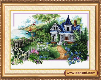 "Counted Cross Stitch Kit by Abris Art ""Summer Story'"