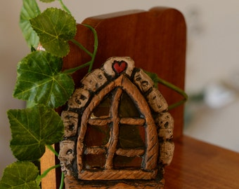 Handmade Fairy Garden Door