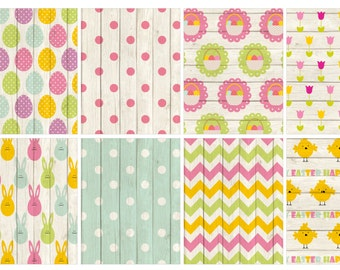 Easter PASTEL full box stickers (planner stickers)
