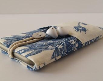 Phone Case TOILE DE JOUY Blue