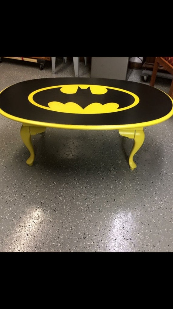 Man Cave Office Furniture : Batman marvel dc comics man cave office furniture