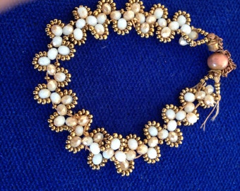 White Crystal Bracelet