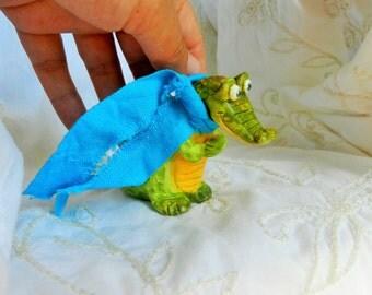 air dry clay crocodile clay crocodile alligator air dry clay figurine handmade
