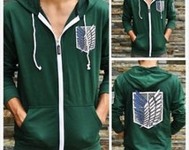 Attack on Titan Shingeki no Kyojin Scouting Legion Cosplay Costume Coat Jacket