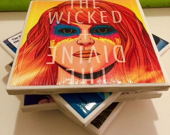 The Wicked + The Divine Comic Book Coasters
