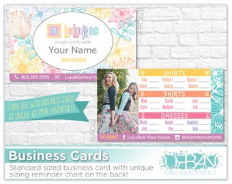 Lularoe business cards etsy for Etsy lularoe business cards