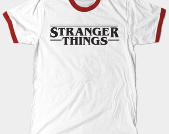 Stranger Things Shirt- Ringer Tee