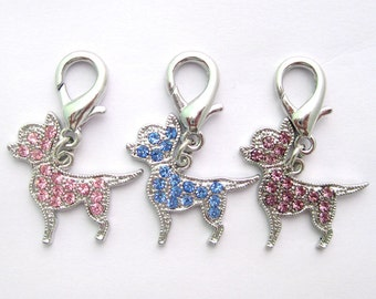 Chihuahua Rhinestone Charms- For YOU or your DOG!