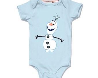 LoNyatanee Olaf Frozen Onesie Baby Onesie Bodysuit Kids Clothing