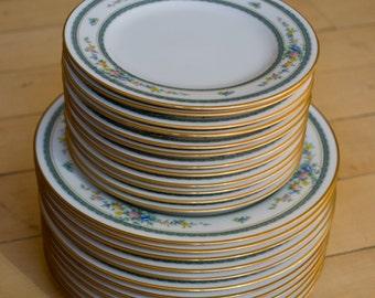 Set of 24 Noritake Plates