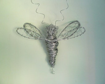 Wire Dragonfly Wall art