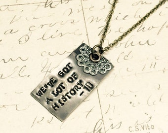History - Fundraising Necklace