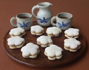 Alfajores Dulce De Leche 12 Homemade Cookies