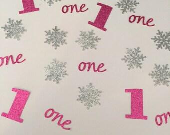 Winter ONEderland Confetti