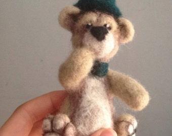 Teddy Bear, custom made to order Needle Felted