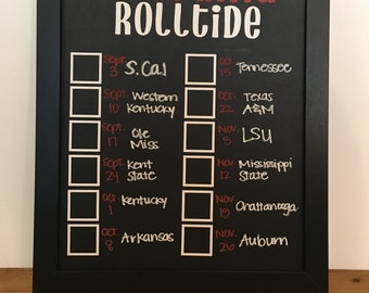 Alabama RollTide Score Board