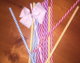 Straw and bow
