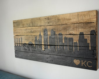 Kansas City Skyline - Customize your favorite City