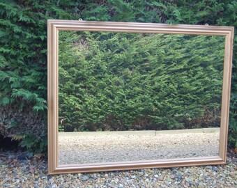 Grande! Gold Painted Framed Mirror