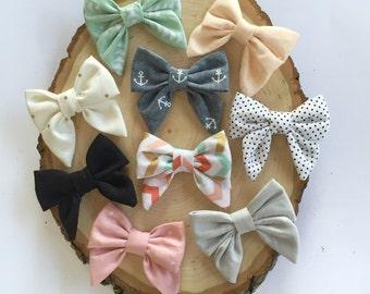 Mini Sailor Bows