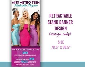 Retractable Banner Design , Graphic Design, Banner Design, Business Banner design