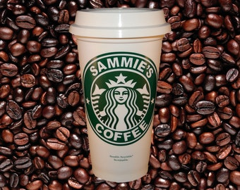 Starbucks Personalized Coffee Travel Mug - 16 ounce - Now with Free Personalization! Great for Corporate Events, Parties, or Birthday gifts!