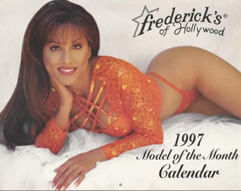 Frederick's of Hollywood 1997 Model of the Month Calendar