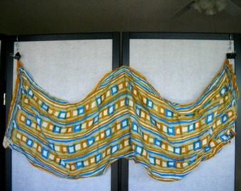 Vintage 1960's VERA Silk-blend Scarf