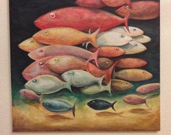 school of fish,