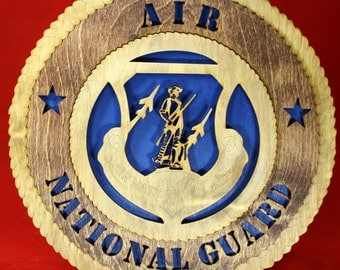 Air National Guard Plaque Tribute