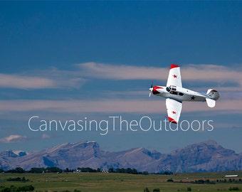 Airshow Canvas Wall Art