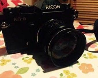 Ricoh KR-5 SLR Vintage Film Camera