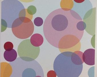 Tumblebeasts P-647 multi colored circles