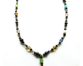 SALE!!! African beaded necklace