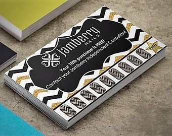 PERSONALIZED - Jamberry Punch Cards - DIGITAL or PRINTED - Exclusive Design from Designs & Devotions!