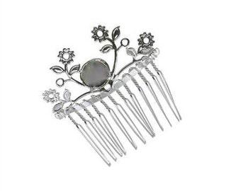 Rivoli ss50 12 mm Leaves Hair Comb
