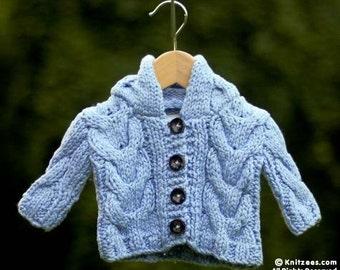 Baby Boy Blue Hoodie Sweater 18-24 Months