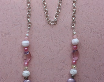 """Necklace """"Candies from my childhood"""" - shining, clear and colorful"""