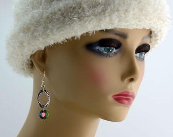 Oval Crystal Earrings - E2388